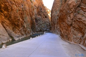 Gorges du Dadès, Marokko
