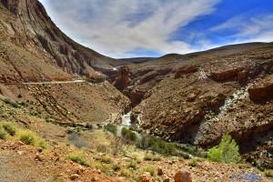 Rückfahrt - Gorges du Dadès, Marokko