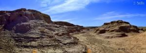 Skurrile Lehm-Landschaft in Skoura - Marokko