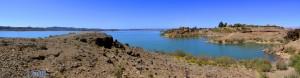Aussicht vom Golf-Club - Barrage Al Mansour Ad Dahbi - Cercle de Ouarzazate - Daraa-Tafilalet - Marokko