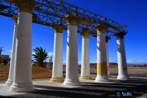 Requisit für die Römer - Atlas Corporation Studios Ouarzazate – Marokko