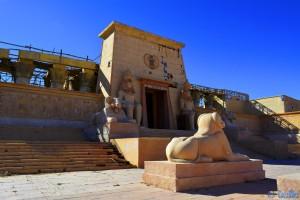 "Aus ""Asterix & Obelix: Mission Kleopatra"" - Atlas Corporation Studios Ouarzazate – Marokko"