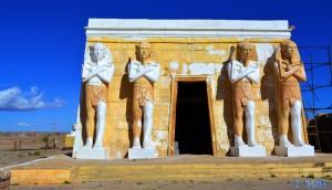 Die Vorderseite - Atlas Corporation Studios Ouarzazate – Marokko