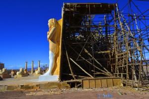 ...und was dahinter ist :o - Atlas Corporation Studios Ouarzazate – Marokko