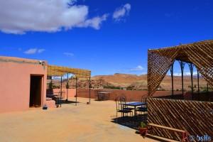 Dachterrasse des Hotels Nouflla - Aït Ben Haddou – Marokko