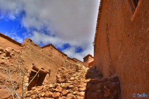 Da hinauf wollen wir... - Aït Ben Haddou – Marokko