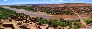 Aussischt von ganz oben - Aït Ben Haddou - Marokko