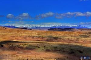 Aussischt von ganz oben - Aït Ben Haddou – Marokko (HDR [High Dynamic Range])