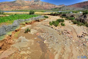 Flüsschen am Barrage D'Aït-Aadel – Marokko