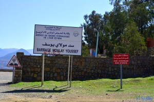 Barrage Moulay Youssef – Marokko