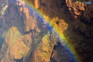 Ein bisschen Regenbogen gefällig? - Ouzoud-Wasserfälle – Marokko
