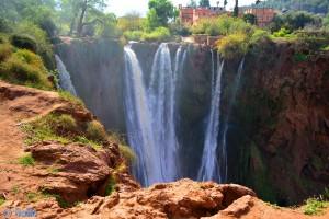 Ouzoud-Wasserfälle - Marokko