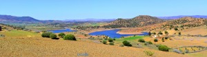 Der unerreichbare See - Barrage Ahmed el Hansali – Marokko
