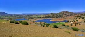 Der unerreichbare See - Barrage Ahmed el Hansali – Marokko (HDR [High Dynamic Range])