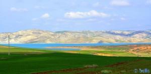 Barrage Idriss 1. nahe Fès – Marokko