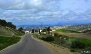 Panorama from the R501 – Marokko