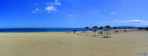 Plage Cabo Negro – Marokko - Panorama-Bild