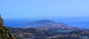 Blick auf Ceuta – Spanien