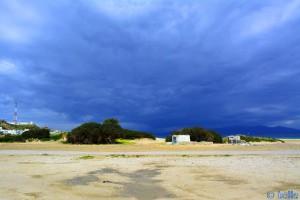 Dunkel kommt's von Spanien... Plage Dalia – Marokko