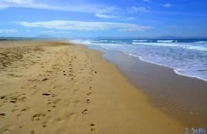 ...Deine Spuren im Sand... *träller* - Playa de los Lances Norte - Tarifa – Spain