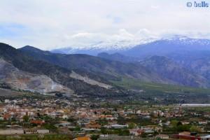 Schneebedeckte Gipfel - Sierra Nevada – Spanien