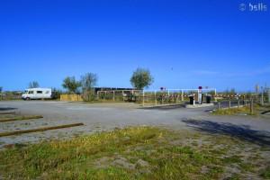 """Parking in the Camper Area """"Les trois Digues"""" - Sète – France – April 2016"""