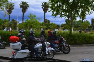 Harley-Davidson-Bikers in St. Tropez - France