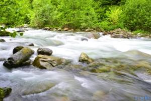 River Pesio - Vigna - Chiusa di Pesio – Italy – Langzeitbelichtung