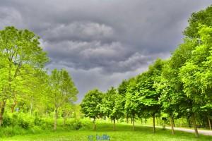 Gewitterstimmung in Vigna - Chiusa di Pesio- Italien - HDR [High Dynamic Range]