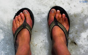Snow under my Feet - Colle di Sampeyre - 2284m - Italy
