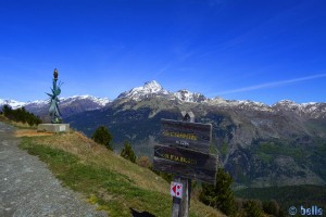 Colle di Sampeyre with the Monviso – Italy