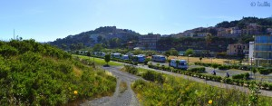 Parking in Imperia - Lungomare Amerigo Vespucci – Imperia – Liguria – Italy – May 2016