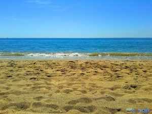 Beach of L'Hospitalet de l'Infant – Spain