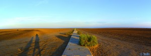 The long Way to the Platja dels Eucaliptus – Spain – Panorama-Bild mit Image Composite Editor