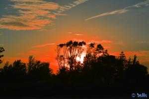 Der Himmel brennt - Platja dels Eucaliptus – Spain