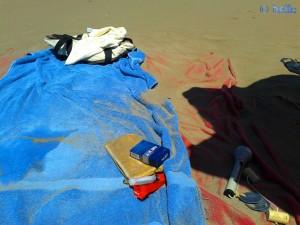 Flugsand am Platja dels Eucaliptus – Spain