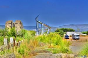 Parking between Torre de la Sal und Marina D'Or - Oropesa – Spain - HDR [High Dynamic Range]