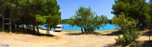 Parking at Embalse de Sitjar - CV-189, 22, 12200 Onda, Castellón, Spanien – June 2016
