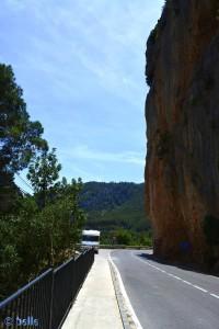 Auf dem Weg nach Puebla de Arenoso, Spanien