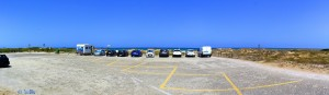 Parking at Platja Garrofera - Les Gavines – Spain