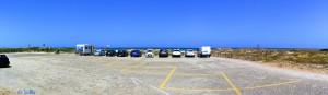 Parking at Platja Garrofera - Les Gavines – Spain