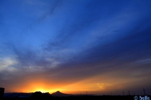 Sunset in Oliva - Calle Passadores, 5A, 46780, Valencia, Spanien