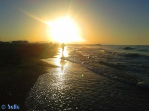 Sunset at Playa Almadrava – Spain