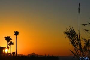 Sunset at Playa Almadrava – Spain