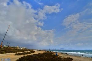 Dunkel wird's... Agua Amarga Playa – Spain