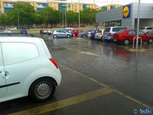Rain in Alicante – Spain
