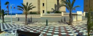 Wasser tanken in Los Arenales del Sol, Alicante, Spanien