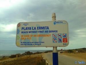 Playa la Ermita – Spain