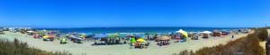 Ziemlich voll - Playa la Ermita – Spain