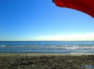 ...die Ruhe vor dem Sturm... Playa la Ermita – Spain